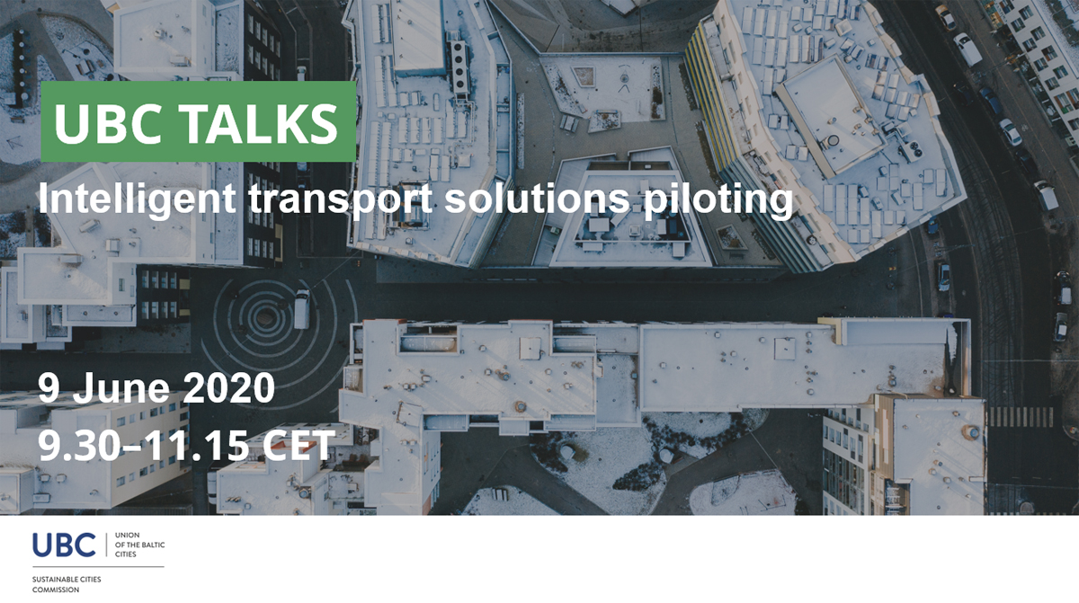 UBC Talks webinar about intelligent transport solution piloting