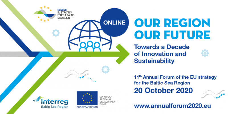 EUSBSR Annual forum banner