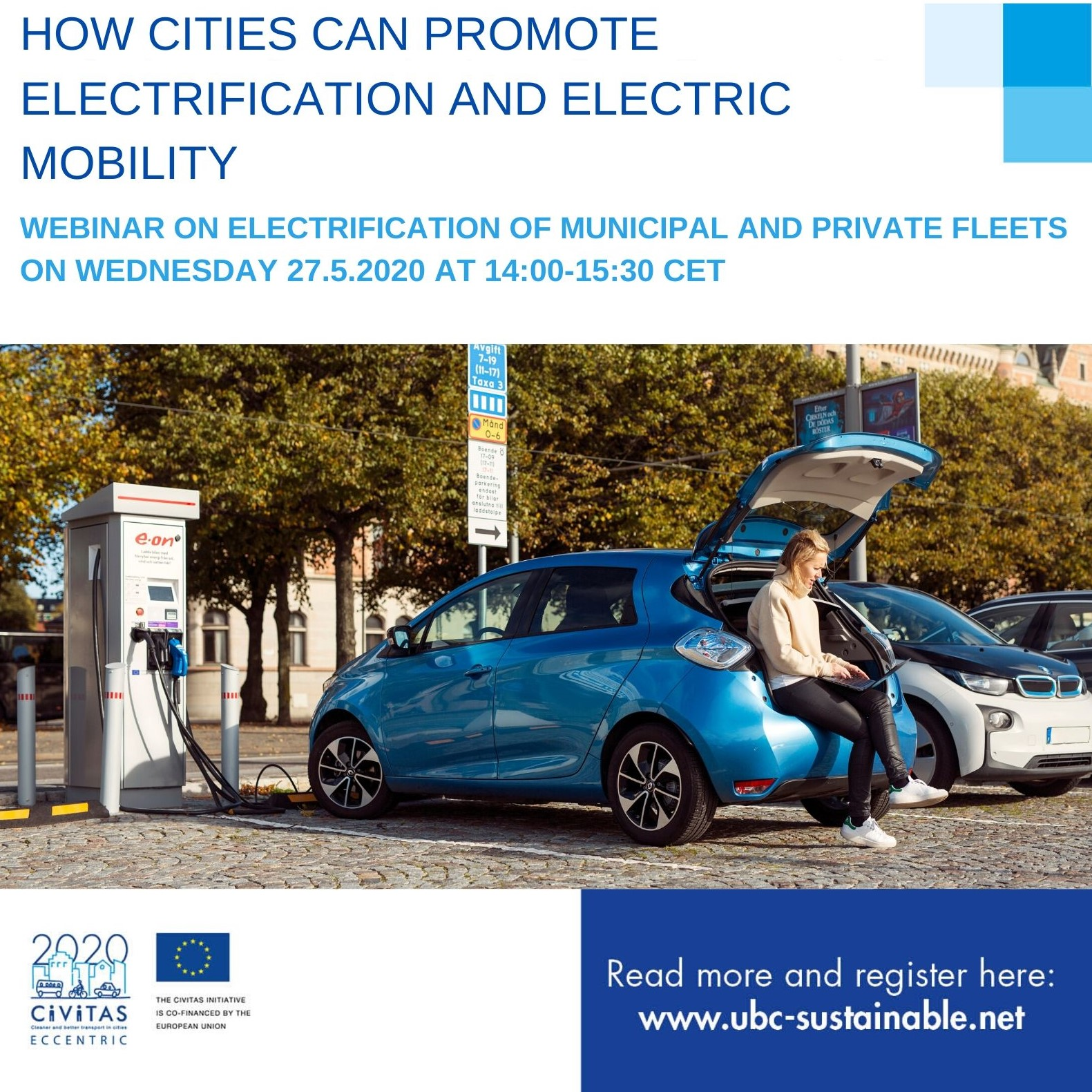 Webinar: How cities can promote electrification and electric mobility