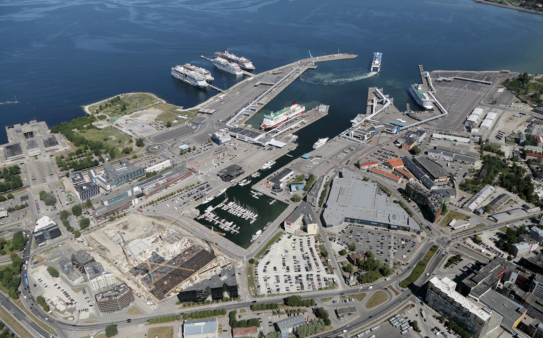 Old city harbour of Tallinn