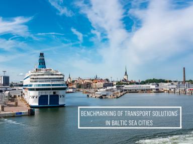 Ship in Port of Tallinn