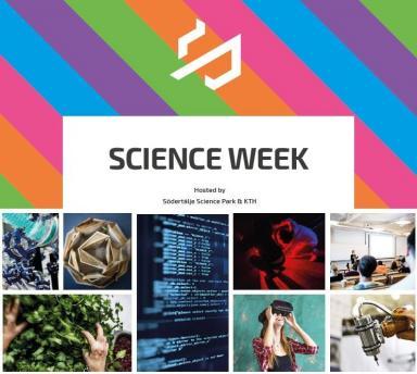 Promotion image of Science week in Södertälje