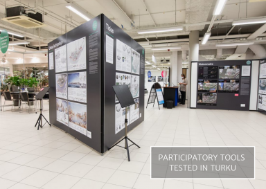 Image from Linnanniemi Pop-Up Exhibition in Turku from 2020