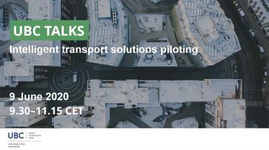 UBC Talks webinar about intelligent transport solution piloting