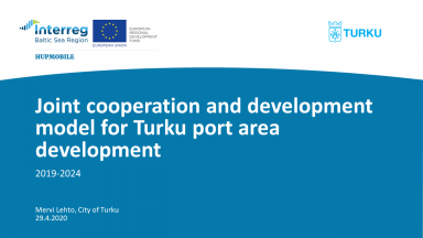 Joint cooperation and development model for Turku