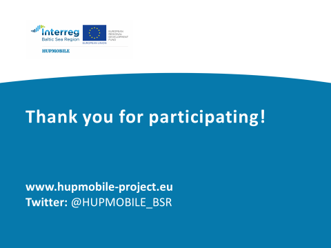 Thank you to all webinar participants